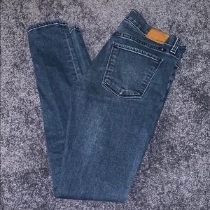 EUC Lucky Brand Brooke Skinny Med Wash, Size 2/26R